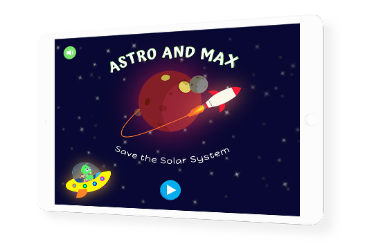 Astro & Max interactive story